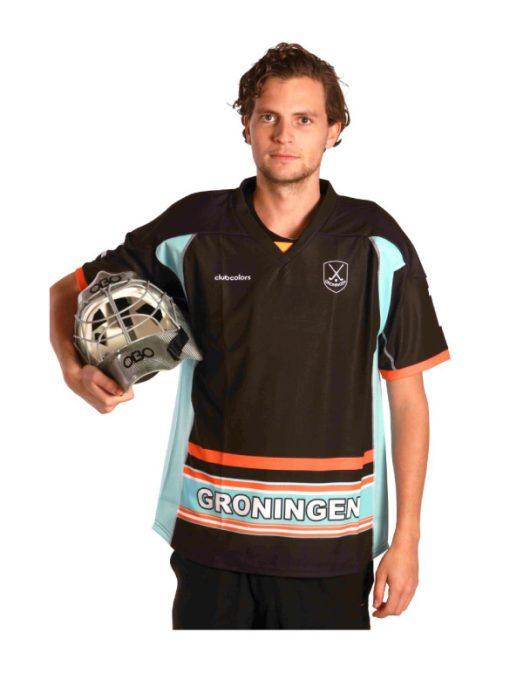 special made goalie shirt