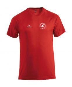 heren trainingshirt rood